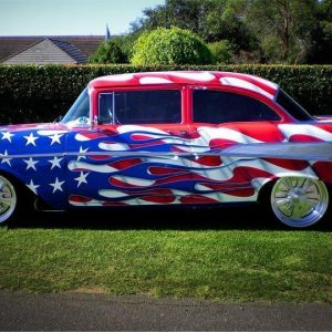 1957 Stars Stripes Chevrolet for sale Brisbane