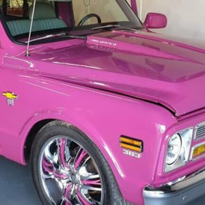 Pink 1968 Chevrolet C10 in Brisbane