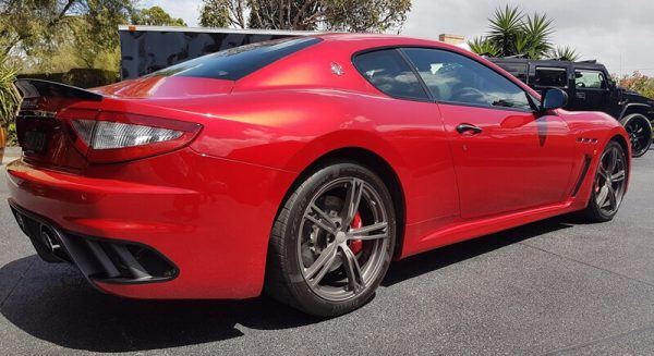 Rear view of 2017 Maserati GranTurismo for sale in Brisbane