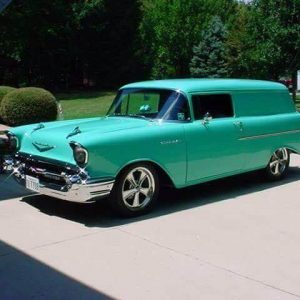 Classic Chevrolet sedan delivery van for sale in Brisbane