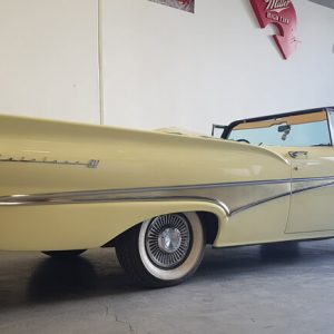 Rear view of 1958 Ford Fairlane 500 Convertable car for sale in Brisbane