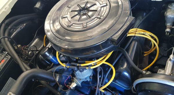 Engine of 1958 Ford Fairlane 500 Convertable for sale in Brisbane