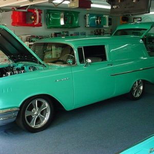1957 Chevy Sedan Delivery car for sale Brisbane