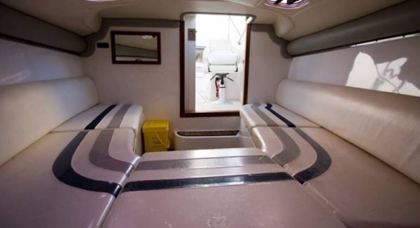 interior of Atomix 7500 boat for sale in Brisbane